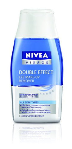 2x Nivea Visage Double Effect Eye Make up Remover 125ml Best Price From Thailand