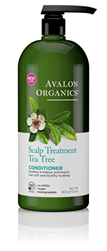 Avalon Organics Scalp Treatment Tea Tree Conditioner, 32 oz.