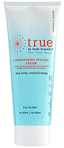 True by Made Beautiful Conditioning Styling Cream 8oz - 2 Pack