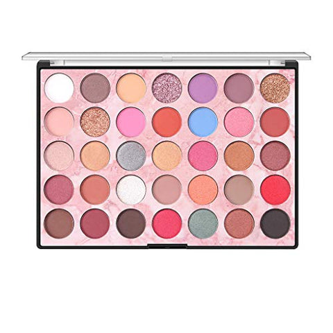AMOUSTORE Professional Makeup Eyeshadow Palette Matte,Makeup palette Eye Shadow Shimmer,Glitter Eyeshadow Powder Palette Pigmented (MY)