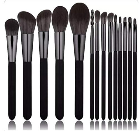 14 Piece Professional Kabuki Makeup Brush Set.