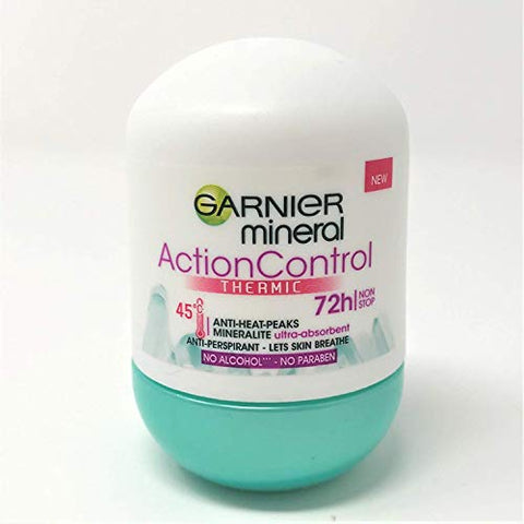 Garnier Mineral ActionControl Thermic Anti-Perspirant Deo Roll-On 50 ml / 1.7 oz