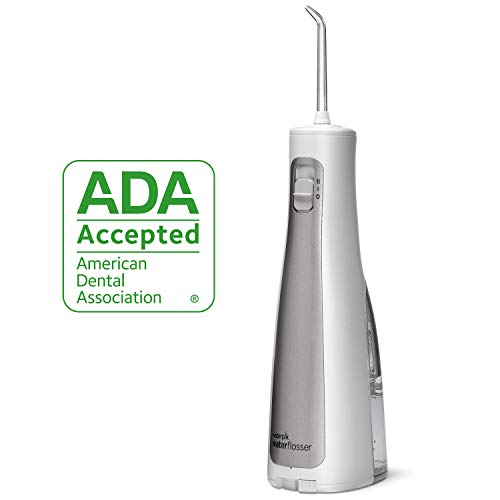 Waterpik Water Flosser Cordless Dental Oral Irrigator For Teeth With Portable Travel Bag And 3 Jet T