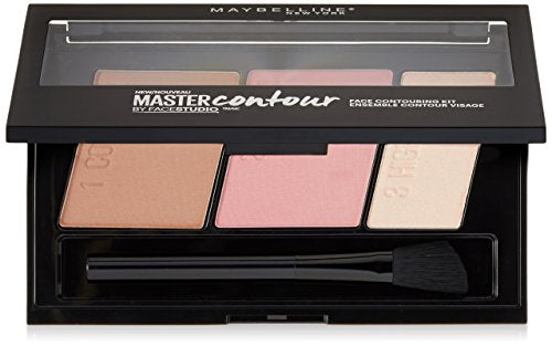 Maybelline Facestudio Master Contour Face Contouring Kit, Light To Medium, 1 Count