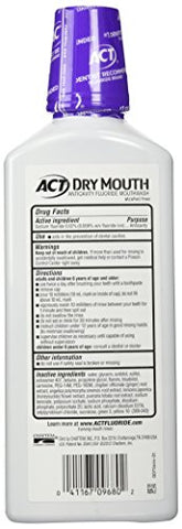 Act Total Care Dry Soothing Mouthwash, Mint, 18 Fl Oz (Pack Of 1)