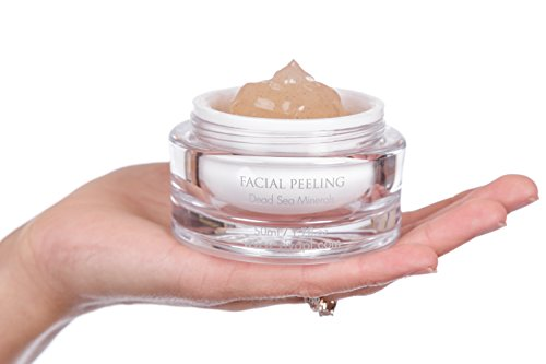 Vivo Per Lei Facial Peeling Gel   Face Peel Containing Dead Sea Minerals And Nut Shell Powder   Exfo