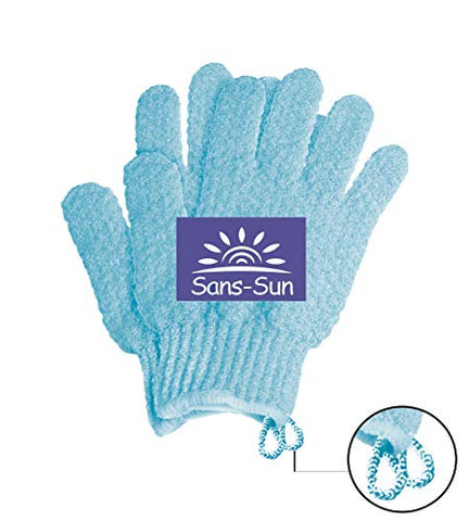 Tan Physics True Color Tanner (2 Pack) w/FREE Hydro Exfoliation Gloves by Sans-Sun