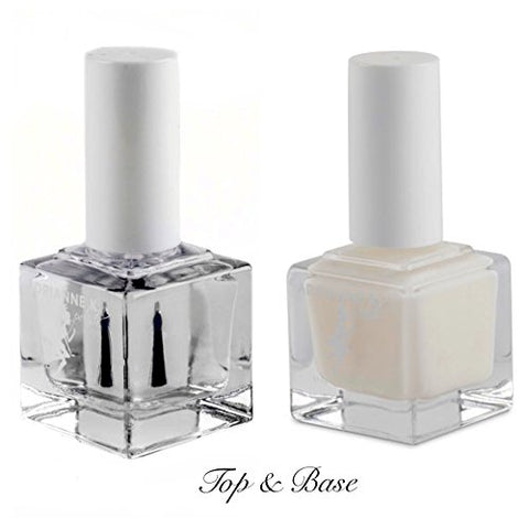 Adrianne K Top Base Coat Nail Polish.51 Fl Oz