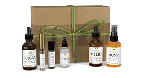 Clearly Mama Self Care Beauty Box With 6 Natural And Organic Skin Care Products For Mom Or Mom To Be
