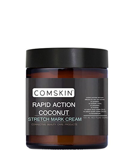 Coconut Stretch Mark Cream (Blend Marks, Fade Scars, Weight Gain, Pregnancy)