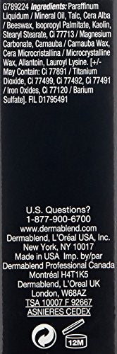 Dermablend Quick-Fix Body Makeup Full Coverage Foundation Stick, 35C Caramel, 0.42 Oz.