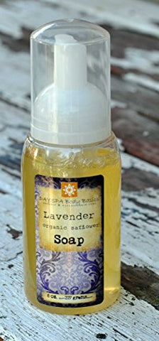 Lavender Foaming Liquid Hand Soap For Sensitive Skin. Calm The Mind And Soothe The Body.