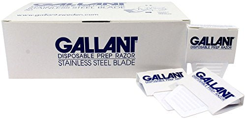 Gallant Disposable Prep Razors - Box of 50