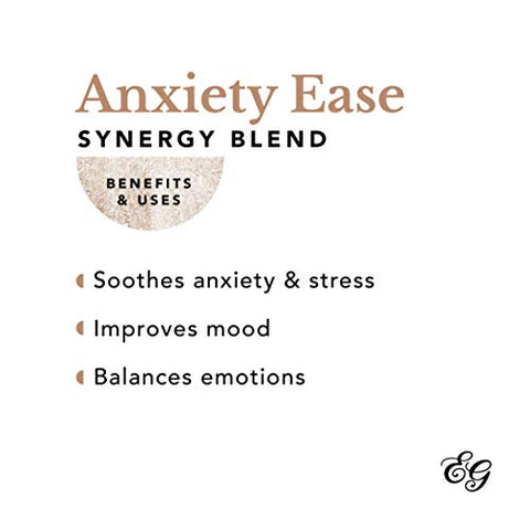 Edens Garden Anxiety Ease Essential Oil Synergy Blend, 100% Pure Therapeutic Grade (Highest Quality