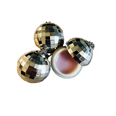 Disco Ball Hanging Berry Lip Balm, Set of 3