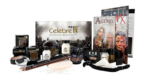 Mehron Makeup Celebre Pro Cream Kit (TV/Video)