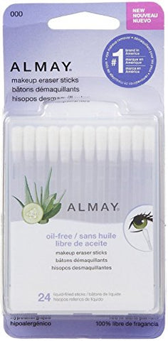 Almay Makeup Eraser Sticks 24 ea (Pack of 9)