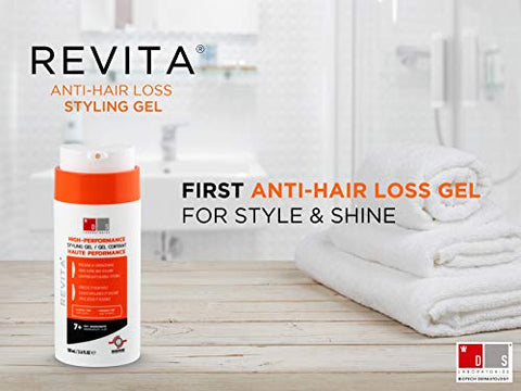 Revita Styling Gel For Hair   Gentle On Scalp And Good For Hair Health   Helps Grow Thicker Hair