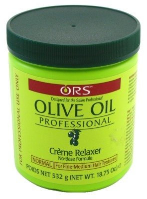 Ors Olive Oil Creme Relaxer Normal 18.75 Ounce Jar (555ml) (2 Pack)