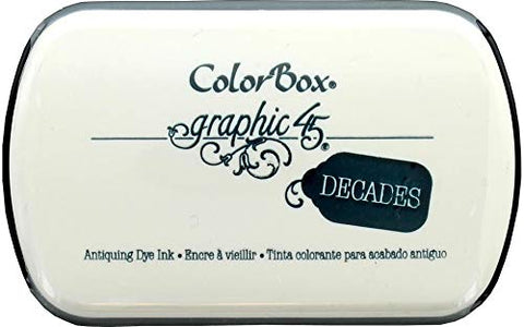Graphic45 Bon Voyage Blue Decades Dye Ink Pad (Hampton Arts)