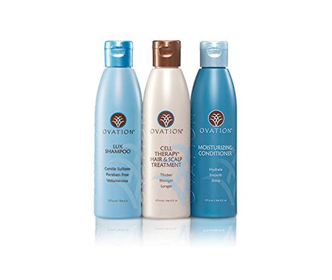 Ovation Legacy Cell Therapy System (6 Oz.)   Contains Lux Shampoo, Cell Therapy Hair & Scalp Treatme