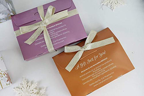 Holiday Special Gifts! Home Spa Bath and Body Natural Skin Care Gift Sets By Namaste Skin (4-Piece Grapefruit GiftSet)