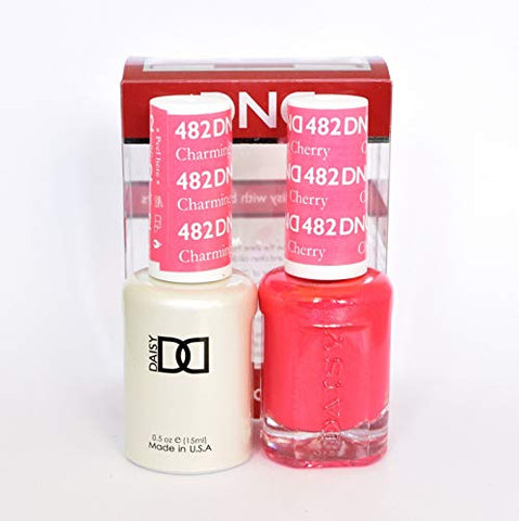 DND Gel & Matching Polish Set (482 Charming Cherry)