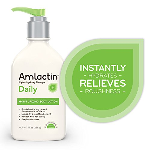 Am Lactin Daily Moisturizing Body Lotion, 7.9 Ounce (Pack Of 1) Bottle, Paraben Free