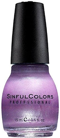 Sinful Colors Professional Nail Polish Enamel, Purple Diamond 0.50 oz
