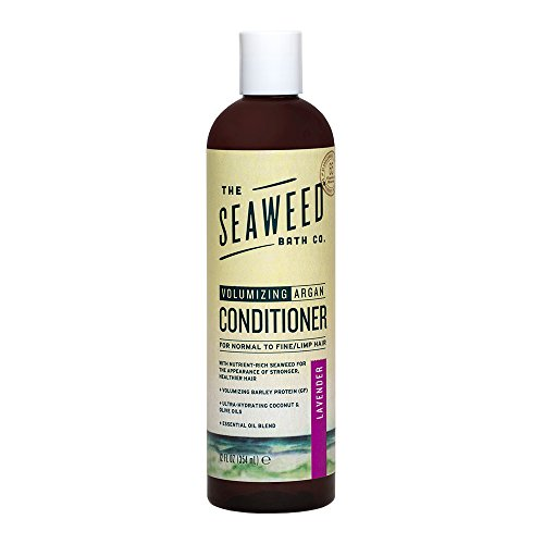 The Seaweed Bath Co. Volumizing Conditioner, Lavender, Natural Organic Bladderwrack Seaweed, Vegan A