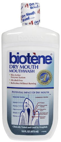 Biotene Dry Mouth Mouthwash 16 oz (Pack of 10)