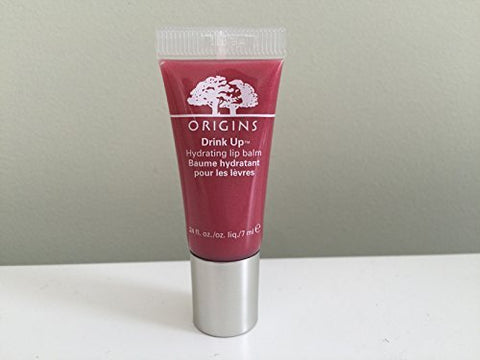 Origins Drink Up Hydrating lip balm, Berry Splash, Travel Size.24 oz