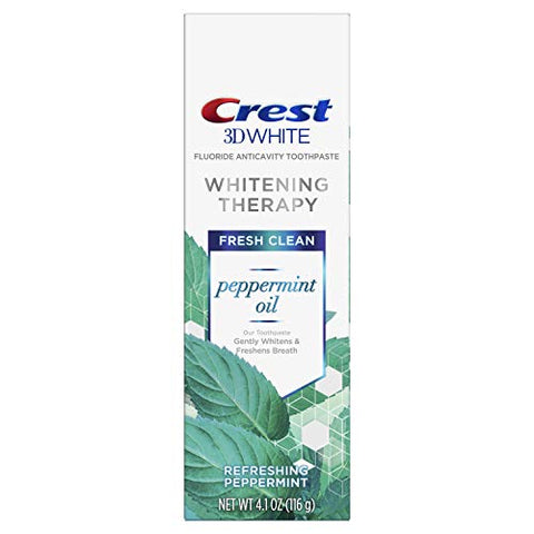 3D White Crest Peppermint Oil Fresh Clean 4.10z pack of 1