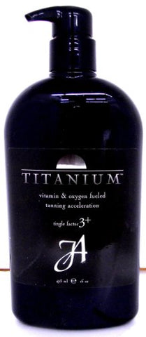 John Abate Titanium 16 oz Tingle T3 Tanning Lotion