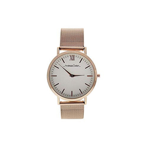 AO-135 Distrig - Rose Gold Stainless Steel Mesh Bracelet Watch