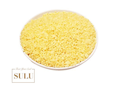 SULU Pure Organic Beeswax Pastilees Yellow All Natural (1 lb)