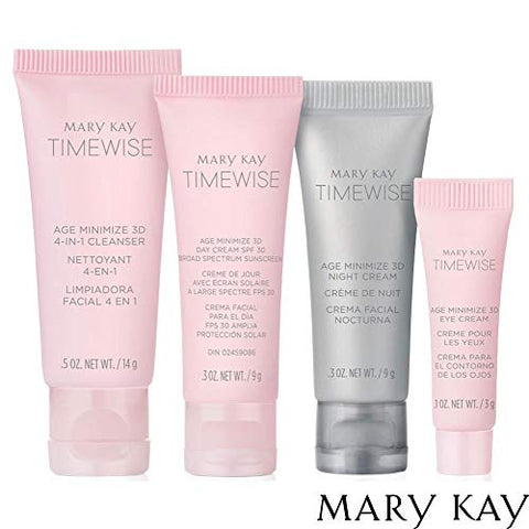 Mary Kay TimeWise Age Minimize 3D Miracle Set - Travel The Go Set - Normal Dry Skin