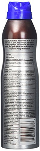 Banana Boat UltraMist Protective Dry Oil Spray SPF 15 Sunscreen 6 Ounce