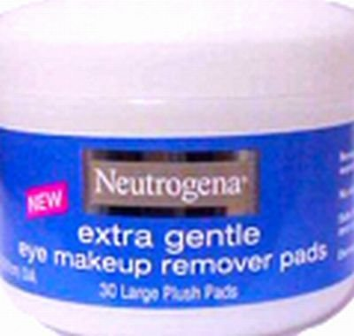 Neutrogena Gentle Eye Makeup Remover Pads (Pack of 15)