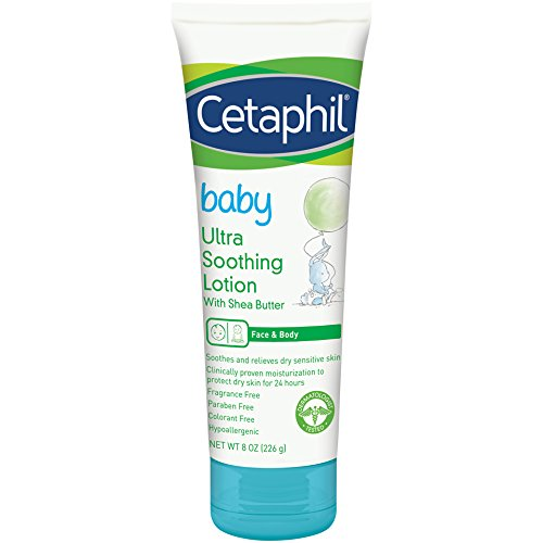 Cetaphil Baby Ultra Soothing Lotion With Shea Butter | Moisturize And Soothe Dry Skin|8 Oz