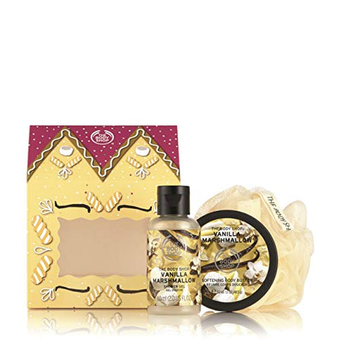 The Body Shop House of Vanilla Marshmallow Delights Gift Set