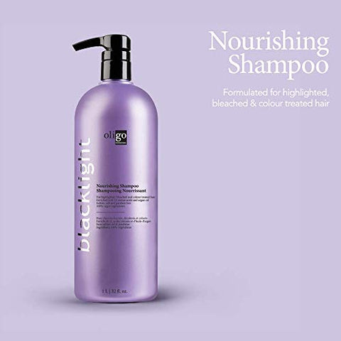 Oligo Professional Blacklight Nourishing Shampoo (32 Oz.) | Paraben Free | Moisturizing Hydration |