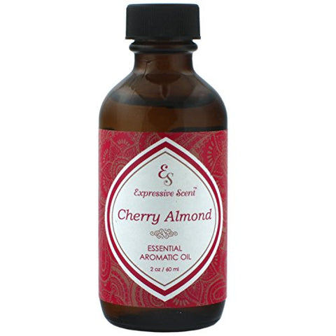 3 Pack Cherry Almond 2oz Scented Home Fragrance Essential Oil By Expressive Scent