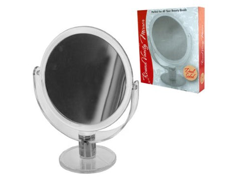 Stand Up Vanity Mirror Dual Sided, Case of 8