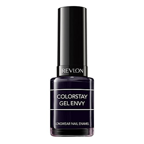 Revlon Color Stay Gel Envy Longwear Nail Enamel, Blackjack, 0.4 Fl Oz (1 Count)