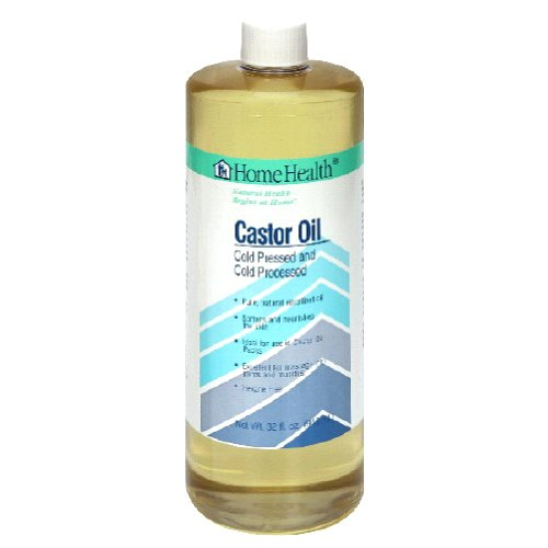 Home Health Original Castor Oil   32 Fl Oz   Promotes Healthy Hair & Skin, Natural Skin Moisturizer
