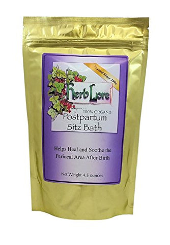 Postpartum Sitz Bath Herbs   Sitz Bath Soak For After Birth Care With Organic Herbs   Natural Herbal