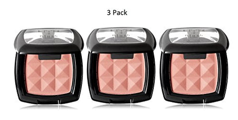 3 x NYX Cosmetics Powder Blush 4g - PB02 Dusty Rose