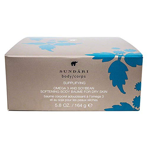 Sundari Omega 3 and Soybean Softening Body Baume, 5.8 Ounce