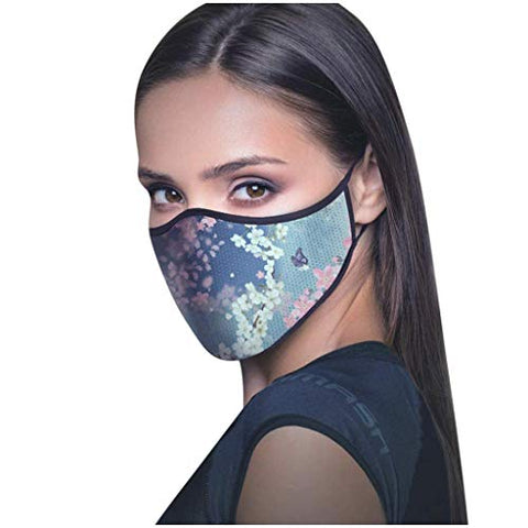 Sagton ?Shipping from US!!!? Reusable Washable Face_Masks Anti-dust Breathable Face Protection Funny Printed Facial Decorations Adult Cycling Running Dustproof Windproof Mouth_Shields